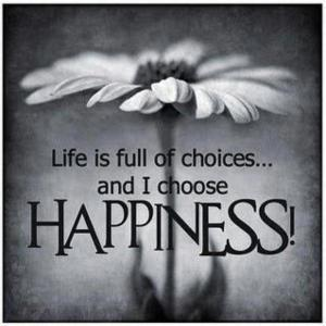 happiness is just a choice copy
